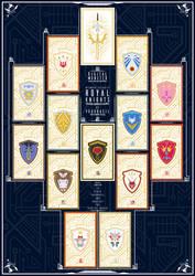 Knights of Yggdrasil | Royal Knights Card Set [2] by PlisKiNPT