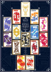 Knights of Yggdrasil | Royal Knights Card Set [1] by PlisKiNPT