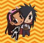 Hashirama and Madara Halloween Art