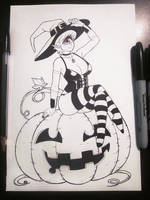 Inktober #3 by SoulAddicted