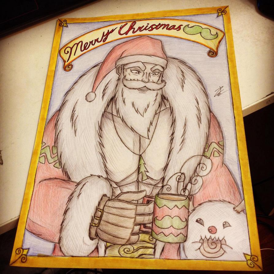 MERRY CHRISTMAS  by enzoZkatsuragi