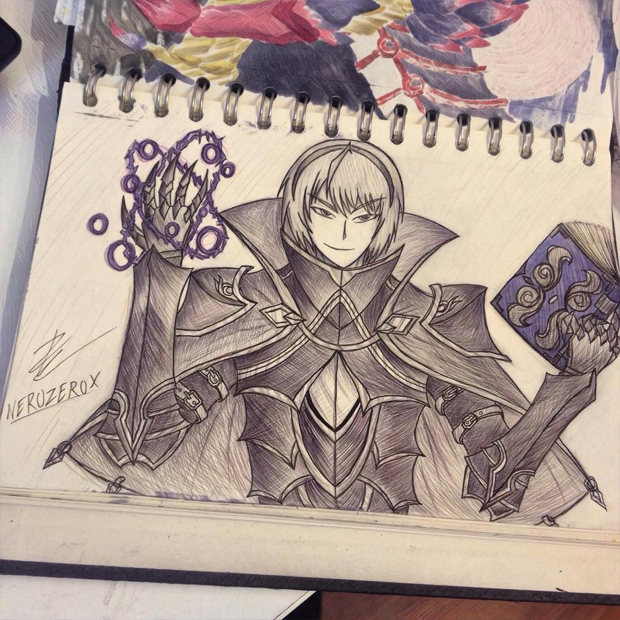 Leo fire emblem  by enzoZkatsuragi