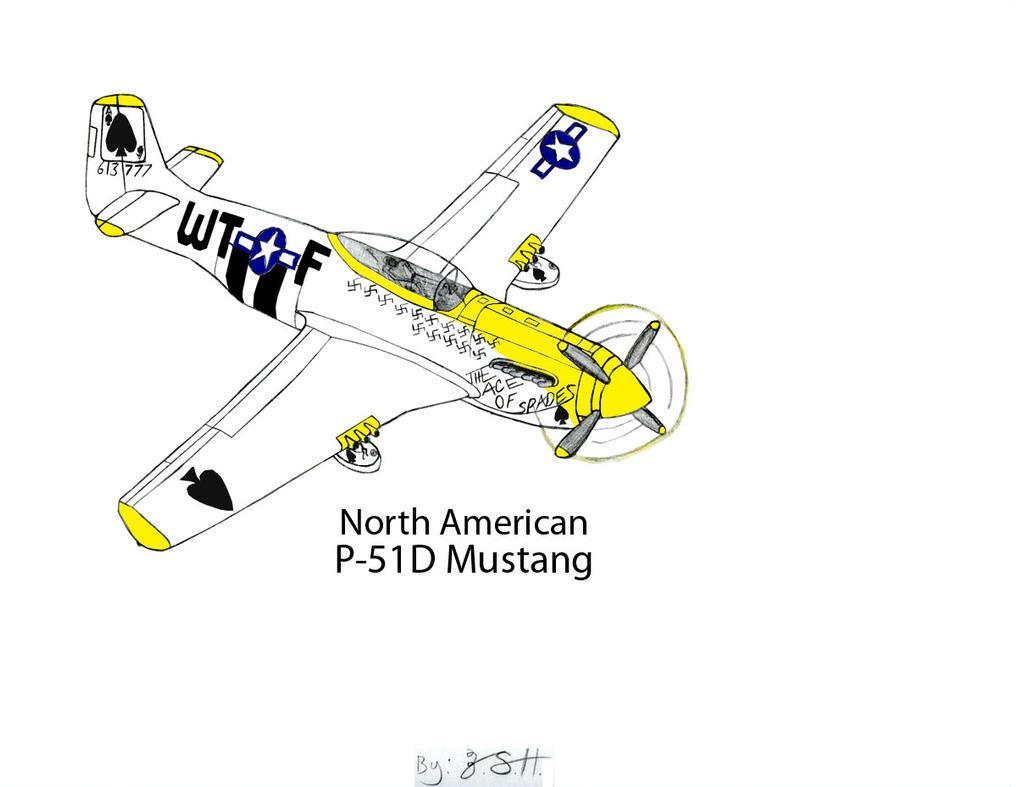 NorthAmerican P-51D Mustang Revised Stage 2 by DBsTreasure