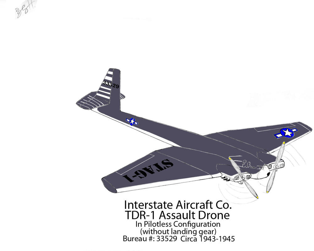 Interstate TDR-1 Assault drone Revised Stage 3-3 by DBsTreasure