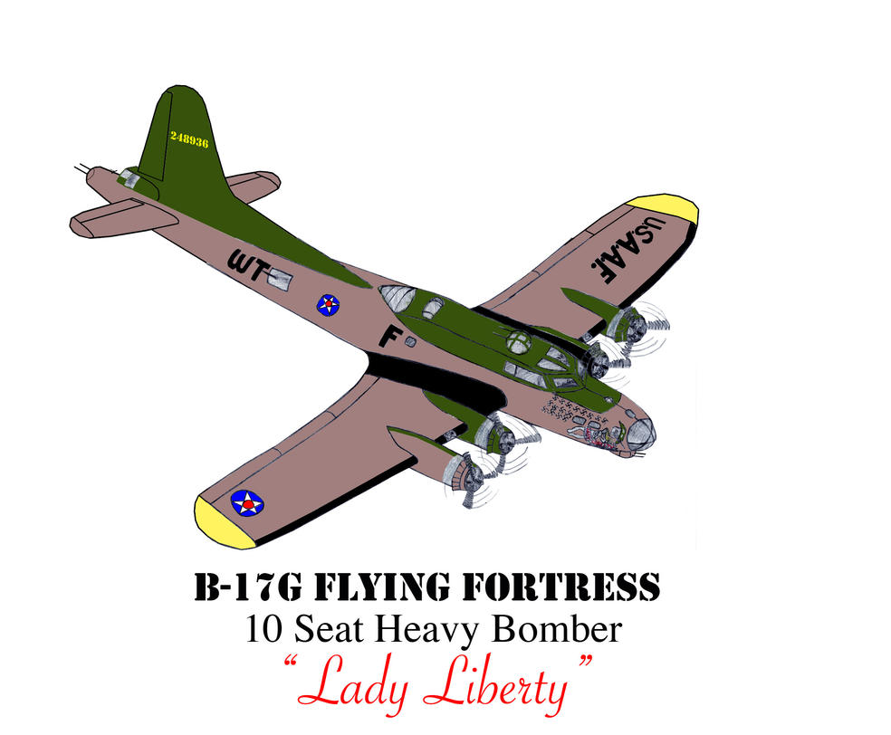 B-17G Flying Fortress Revised Stage 2 by DBsTreasure