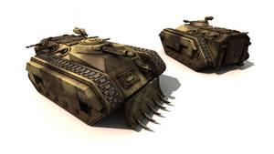 WH40K Chimera Tank Freebie