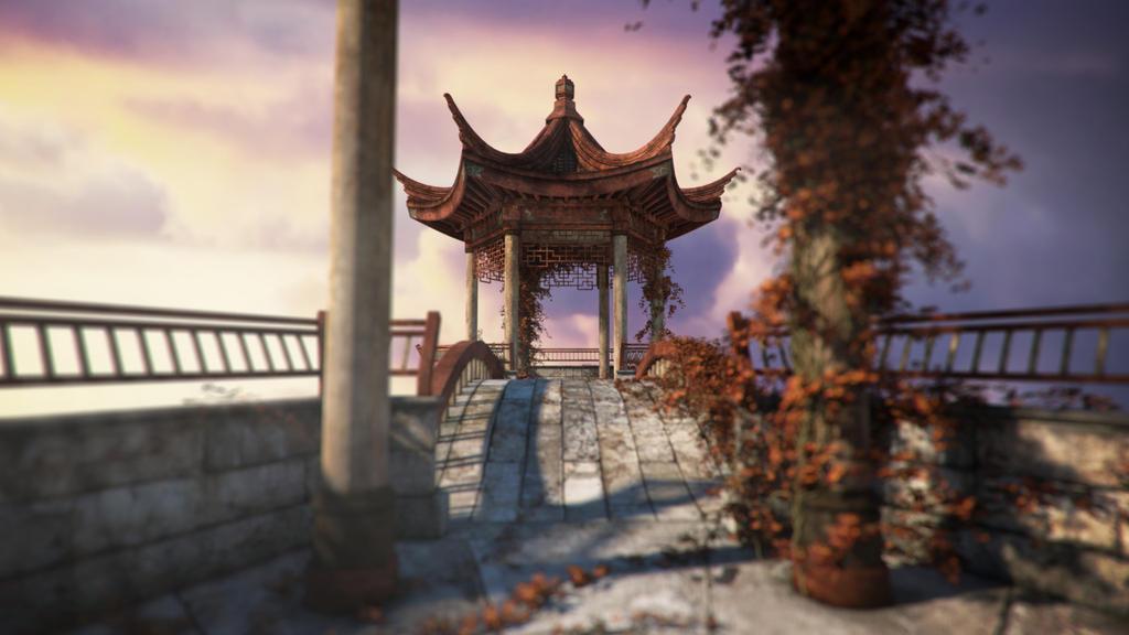 Oriental Tranquility - Awakening by jacktomalin
