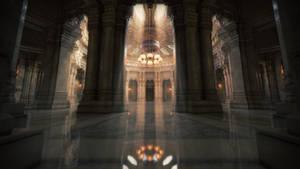 Aslan Court (Iray) by jacktomalin
