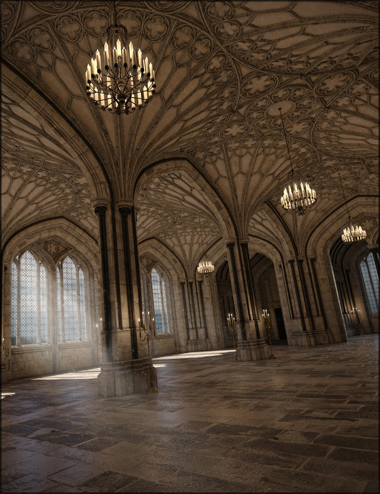 Winterblack Halls by jacktomalin