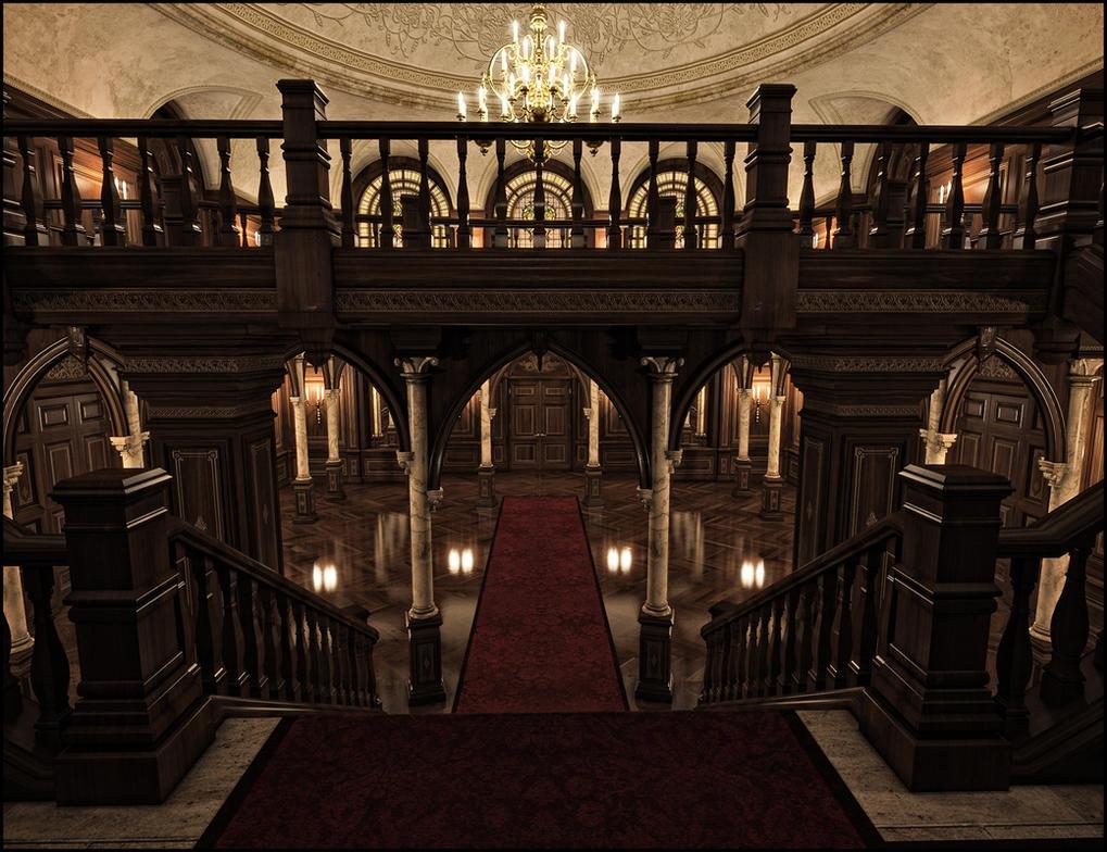 Anderson Hall Iray by jacktomalin