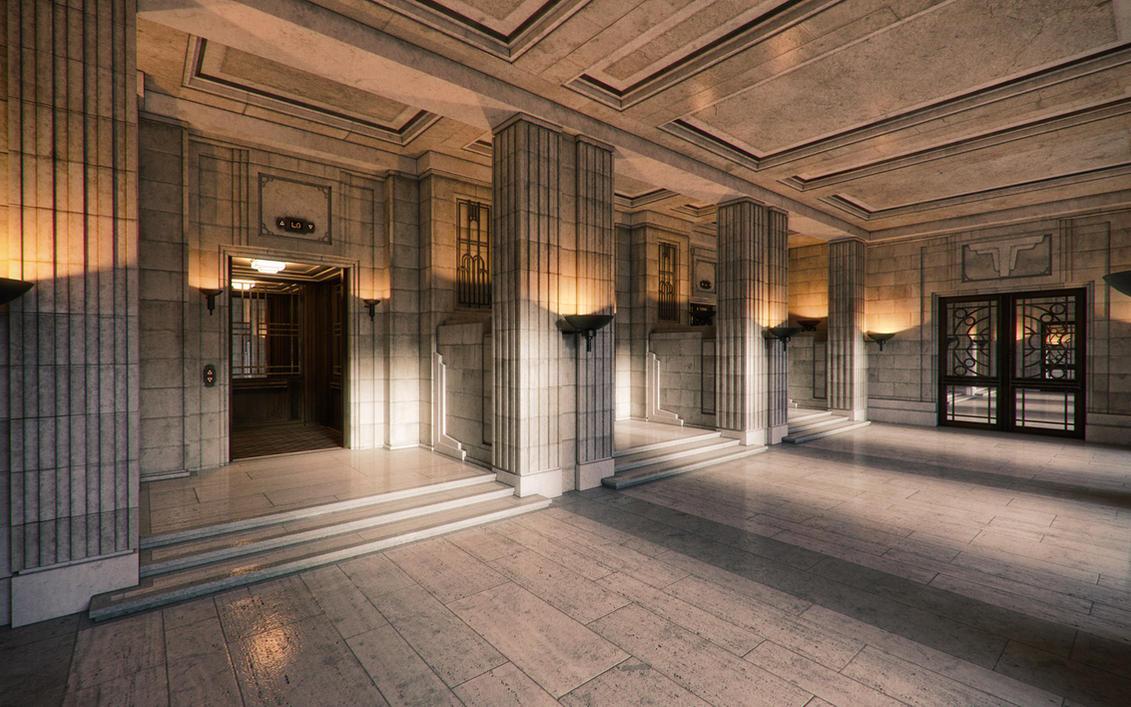 Deco Lobby by jacktomalin