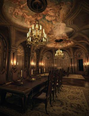 Baroque Grandeur (Iray) by jacktomalin