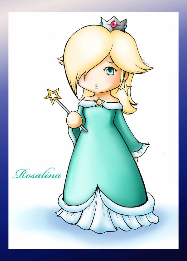 how to draw princess rosalina