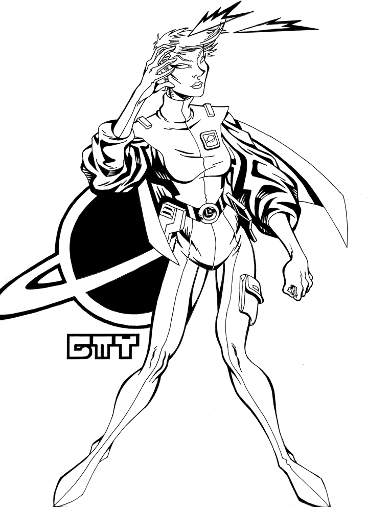 Saturn Girl by AlphaCMT