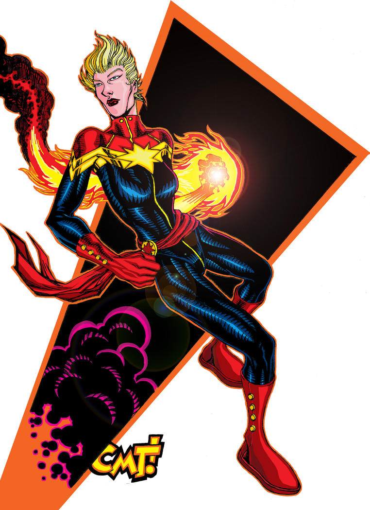 Captain Marvel by AlphaCMT
