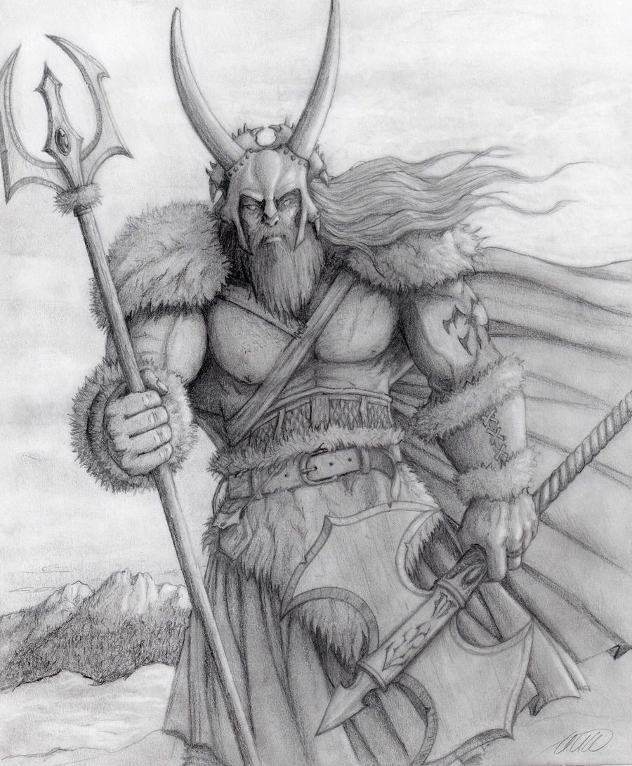 Legendary Viking by adamelindalander