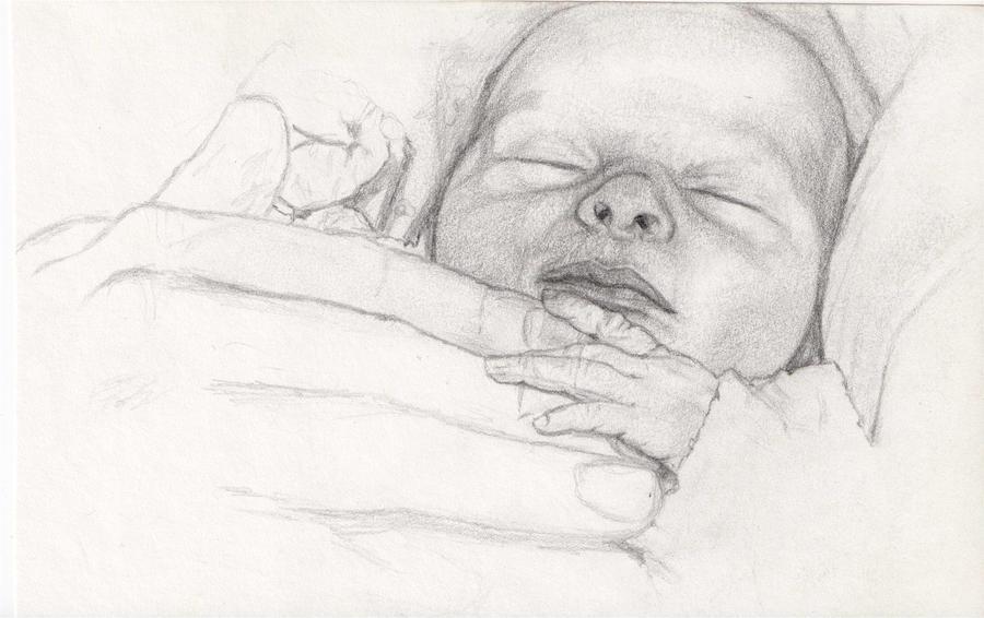 Newborn by adamelindalander