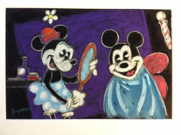 Minnie Haircut by SteveJasper
