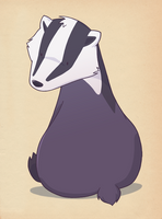 badger by mel-bot