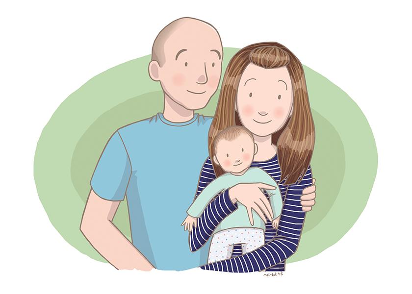 family by mel-bot