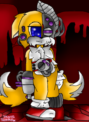 Sonic Lost World Robot Tails By Tailsdafox13 On Deviantart