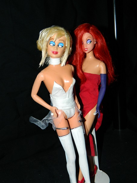 Jessica rabbit and holli would