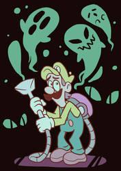 Luigi by nightmaw