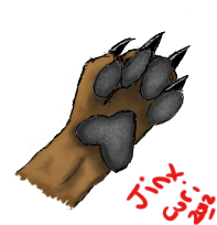 Canine Paw Study by JinxCuri