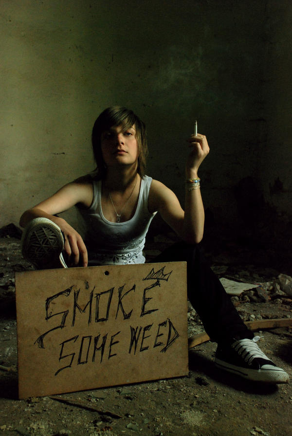 smoke some weed. by badafly on DeviantArt