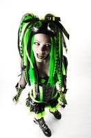 Cyber-Goth 6 by THETERRORCAT