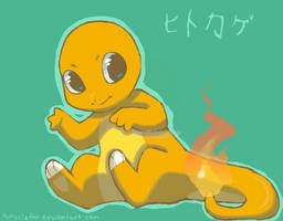 Request - Charmander by drill-tail
