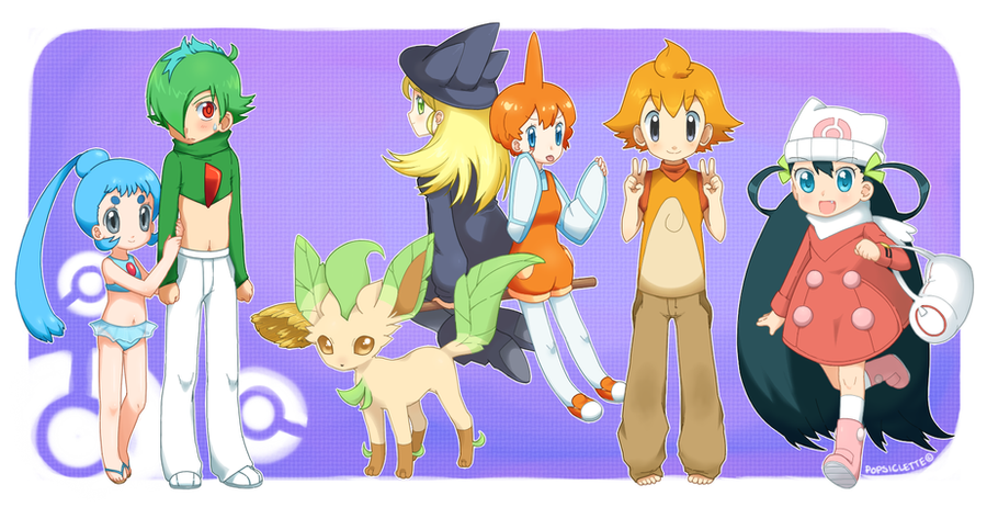Ayami's Pokemon Team by drill-tail