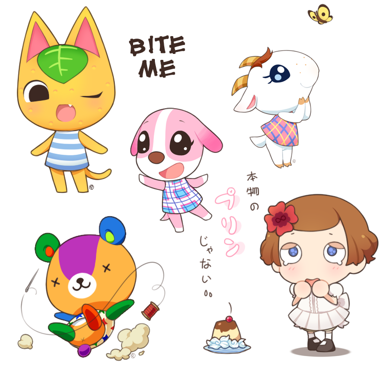 Animal Crossing dump #1 by drill-tail