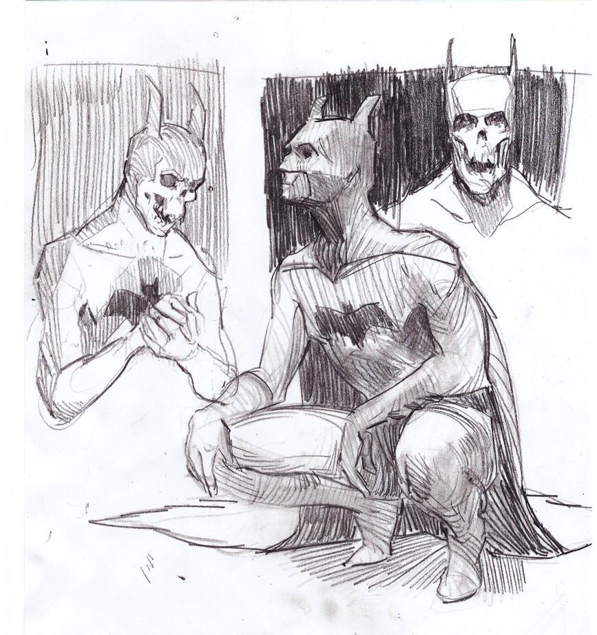 Batmen by HoodboySlim