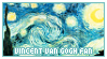 STAMP: Vincent van Gogh fan by neurotripsy