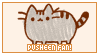STAMP: Pusheen fan by neurotripsy