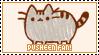 STAMP: Pusheen fan by neurotripsy