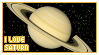 STAMP: I love Saturn by neurotripsy