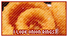 STAMP: I love onion rings