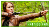 STAMP: Katniss Everdeen fan by neurotripsy