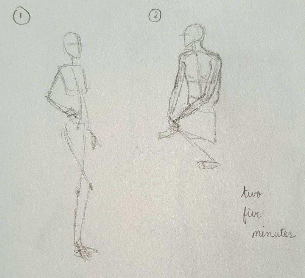 Figure Drawing #14 by LRHurtz
