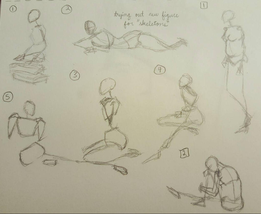 Figure Drawing #15 by LRHurtz