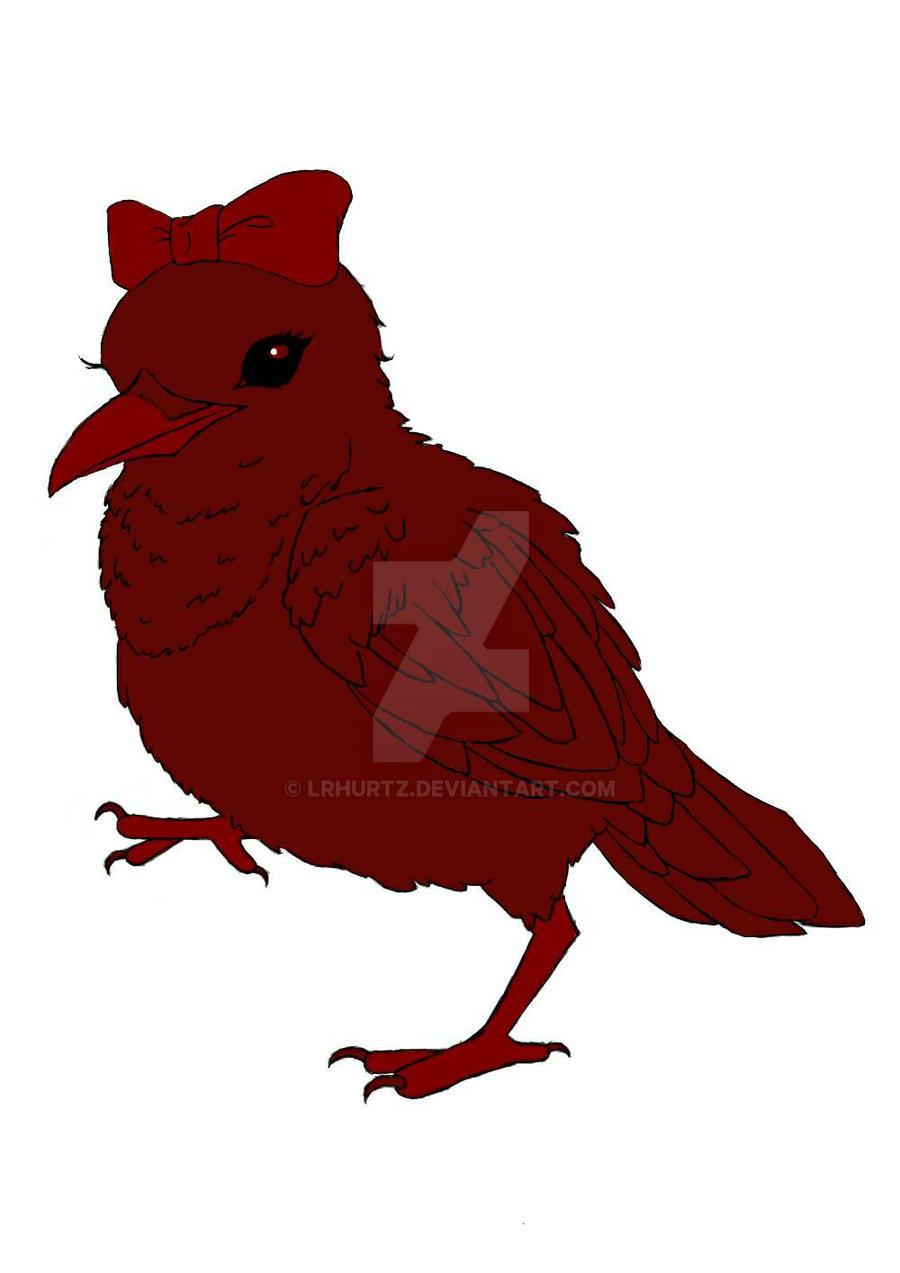 My Logo (Sanguine Raven) by LRHurtz