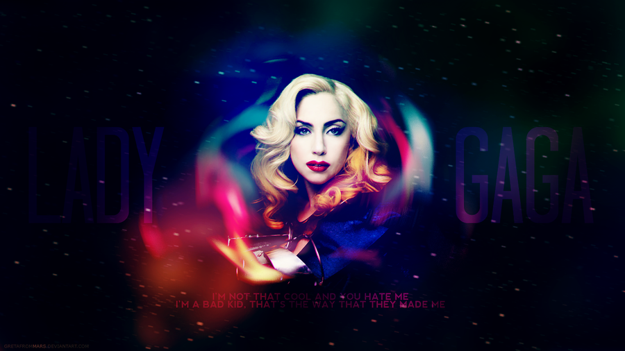 LADY GAGA wallpaper by GretaFromMARS on deviantART