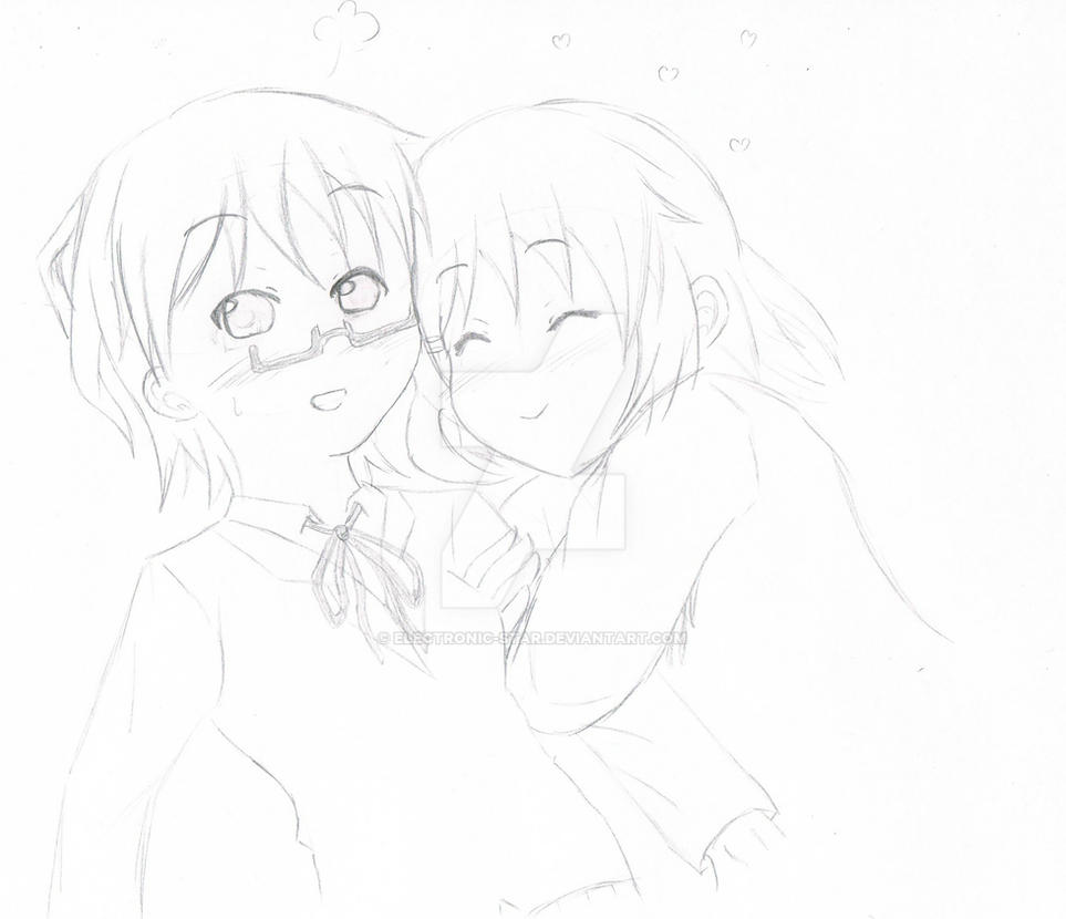 Nodoka and Yui by Electronic-Star