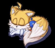 Sleeping Tails by Akusuru