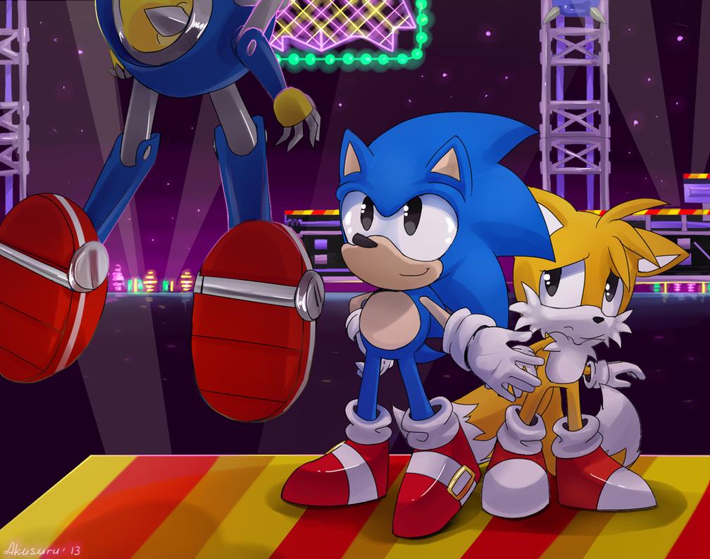 Sonic CD by Akusuru