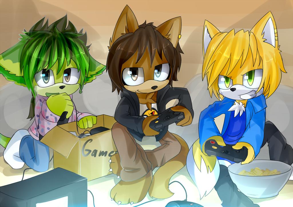 PC: Friends by Akusuru
