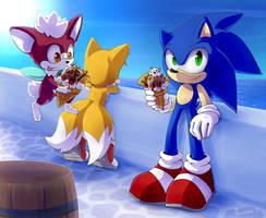 Sonic Unleashed by Akusuru