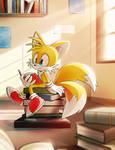 Study time [+speedpaint] by Akusuru